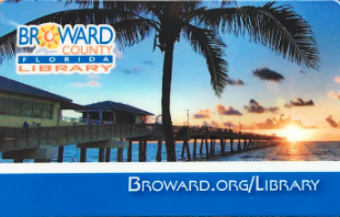 Broward County Library Card Opens in new window